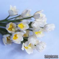Ландыш, цвет белый, 1,2 см, 5 шт.