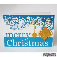 """Набор для создания новогодней открытки """"Merry Christmas"""""""