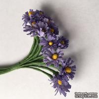 Хризантемы, цветочек 15 мм, стебелек 10 см, 12 шт.