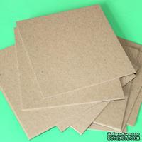 Крафт-картон, цвет: крафт,  толщина 1,5 мм, 1 шт. - ScrapUA.com