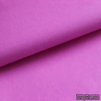 Папиросная бумага тишью 50х76 см  (слож.12,5 х 19см), цвет: ярко-розовый