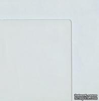 Лист прозрачного пластика, толщина 1мм, размер: 30х30см, углы слегка закруглены, 1 шт.