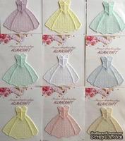 Декор ажурный - бальное платье от Allmacrfat, цвет на выбор, 1  шт.
