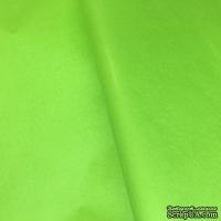 Папиросная бумага тишью 50х66 см  (слож.25 х 16,5см), цвет: салатовый, 10 листов