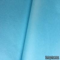 Папиросная бумага тишью 50х66см  (слож.25 х 16,5см), цвет: голубой, 10 листов
