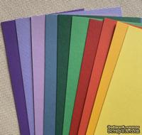Набор полосок картона Brights - яркие, 10х30 см, 10 шт.