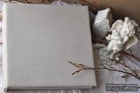 Альбом от Светланы Ковтун в классическом переплете с тканевым покрытием, лен песочный, 30х30 см, 5 разворотов, расст. 7 мм