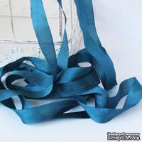 Лента Seam Binding Heather, ширина 14мм, синий, темный, длина 90см