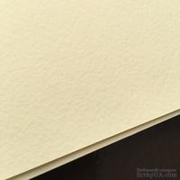 Дизайнерский картон с легкой фактурой Tintoretto crema, размер: 30х30 см, цвет: слоновая кость, плотность: 250 г/м2, 1 шт