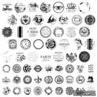 Штампы от IOD - Knob Toppers 12x12 Decor Stamp™, 30x30 см
