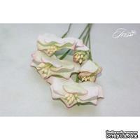 Набор цветов TM Iris - Vanille flowers Оттенки весны, цвет кремово-розовый, 5 шт