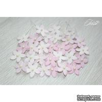 Набор цветов TM Iris - Little flowers светло-розовые, 15 мм, 30 шт