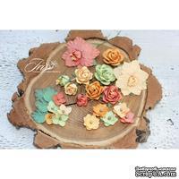 Набор цветов TM Iris - Lady Rosemary Осенний бриз, 20 шт - ScrapUA.com