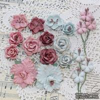 Набор цветов TM Iris - Lady Rosemary Винтаж, 19 шт
