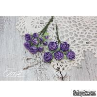 Набор цветов TM Iris - Viva Rosita темно-фиолетовые, 14 шт