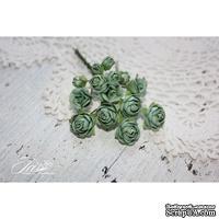 Набор цветов TM Iris - Viva Rosita винтажный зеленый, 14 шт