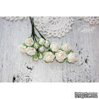 Набор цветов TM Iris - Viva Rosita белые, 14 шт