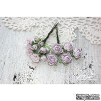 Набор цветов TM Iris - Viva Rosita светло-сиреневые, 14 шт
