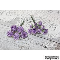 Набор цветов TM Iris - Viva Rosita фиолетовые, 14 шт