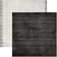 Лист скрапбумаги Authentique  Engage, 30х30 см, двусторонняя