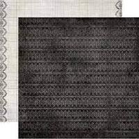 Двусторонний лист бумаги от Authentique - Engage, 30,5x30,5см - ScrapUA.com