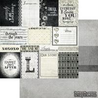 Лист скрапбумаги Authentique - Authentique Enhancements, 30х30 см, двусторонняя