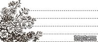 Акриловый штамп J001 Журналинг, размер 7,8 * 3,4 см