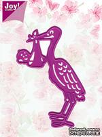 Лезвие Joy! Crafts Cutting & Embossing Dies - Stork & Baby - Аист и младенец
