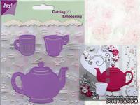Набор лезвий Joy! Crafts Dies - Tea Pot and Mugs - Чайник и чашки