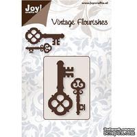 Лезвие Joy Crafts - Vintage Flourishes - Cutting Keys 2 - Ключи, 2 шт