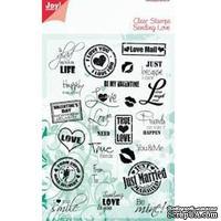 Набор акриловых штампов Marianne Design - Clear Stamp - Sending list