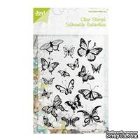 Набор акриловых штампов Joy Crafts - Joy! Craft Clear Stamps - Butterflies