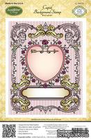 Резиновый штамп от Justrite Stampers - Cupid Background Stamp, 12.6 х 14.6 см