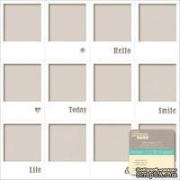 Высечки Jillibean Soup - Placemats Die-Cut Cardstock - White Frames