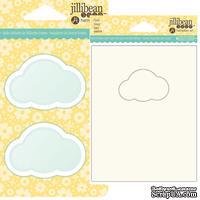 ЦЕНА СНИЖЕНА! Набор для шейкера JBS - Cloud - Облако - окошко-заготовка, открытка, конверт - 1 штука