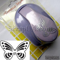 Фигурный дырокол Чарівна Мить - Ажурная бабочка, размер 4 см