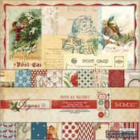 Набор бумаги и украшений My Mind's Eye - Joyous - Kit, 30х30 см