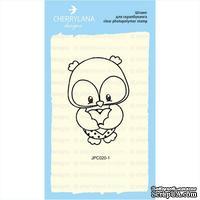 Штампы от Cherrylana - Совушка с сердечком, 4,3х6,2 см