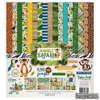 Набор бумаги от Echo Park - Jungle Safari, 30х30, 12+2 листов
