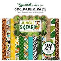 Набор бумаги от Echo Park - Jungle Safari, 15х15