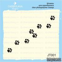 Штампы от Cherrylana - Следы кошки, 6х1 см