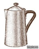 Акриловый штамп K005 Кофейник, размер 2,5 * 3,5 см
