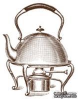 Акриловый штамп K006 Чайник, размер 3,5 * 4,6 см