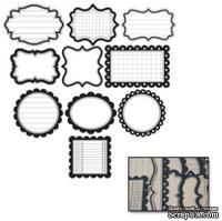 Тэги от Maya Road - Kraft Decorative Journaling Tags, цвет крафт, 30 шт. - ScrapUA.com