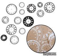 """Высечки """"Часы"""" от Maya Road, 28 шт."""