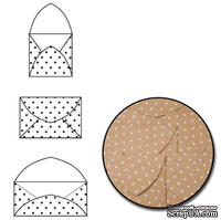 Набор конвертиков от Maya Road - White Polka Dot, 9 шт.