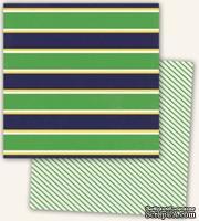 Двусторонний лист бумаги от My Mind's Eye - Kate & Co. Oxford Lane Collection - Bold, 30,5x30,5см - ScrapUA.com