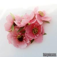 Цветок мака, розовый, 1 шт.