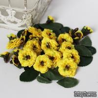 Набор для создания цветочной композиции, цвет желтый