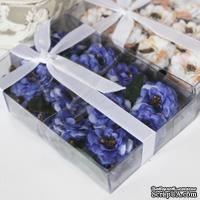 Набор для создания цветочной композиции, цвет фиолетовый